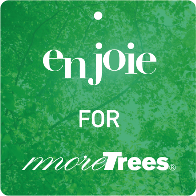 enjoie for more trees ラベル